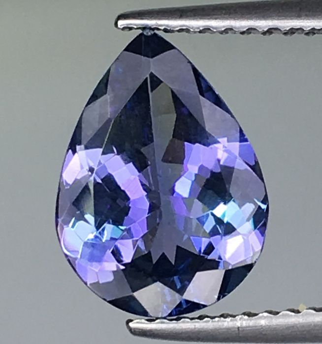 Blue, Violet Tanzanite - 2.64 ct