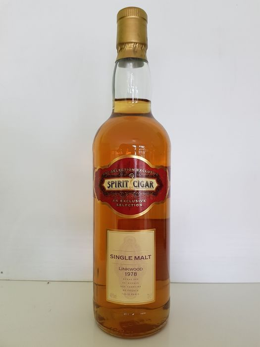 Linkwood 1978 Spirit Of Cigar - Dugas - b. 2000 - 70cl