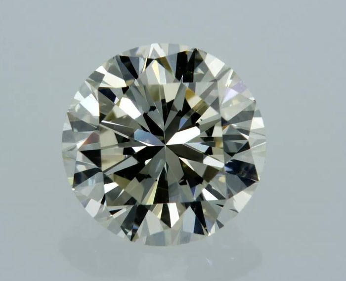 1 pcs Diamond - 2.00 ct - Round - J - VVS1
