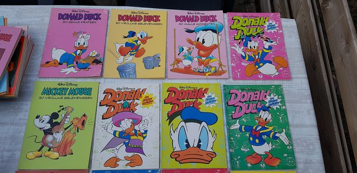 Donald Duck - Speciale albumuitgaves - Donald Duck/Mickey Mouse speciale foodboek, Loeb en Blokkeralbums - Softcover - Eerste druk
