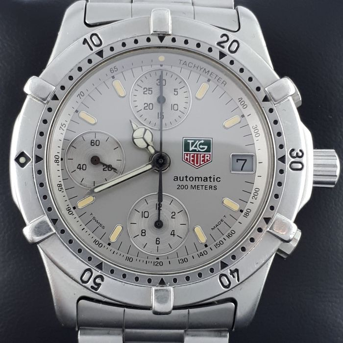 TAG Heuer - Professional Chronograph, Automatic  - 760.306 - 男士 - 1990-1999