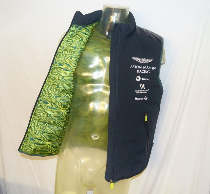 2018/19 Aston Martin Racing Gilet / Body Warmer - 24 uur Le Mans - Hackett - Teamkleding