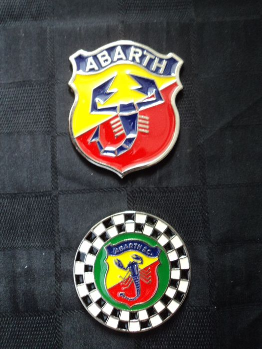 Plaque - Abarth - 1979