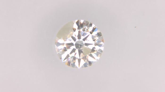 1 pcs Diamant - 0.35 ct - Rond - K - SI2, No Reserve Price!