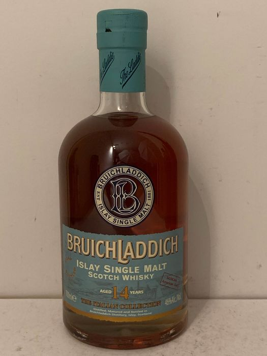 Bruichladdich 1993 14 years old The Italian Collection Sassicaia - 0,7 litros