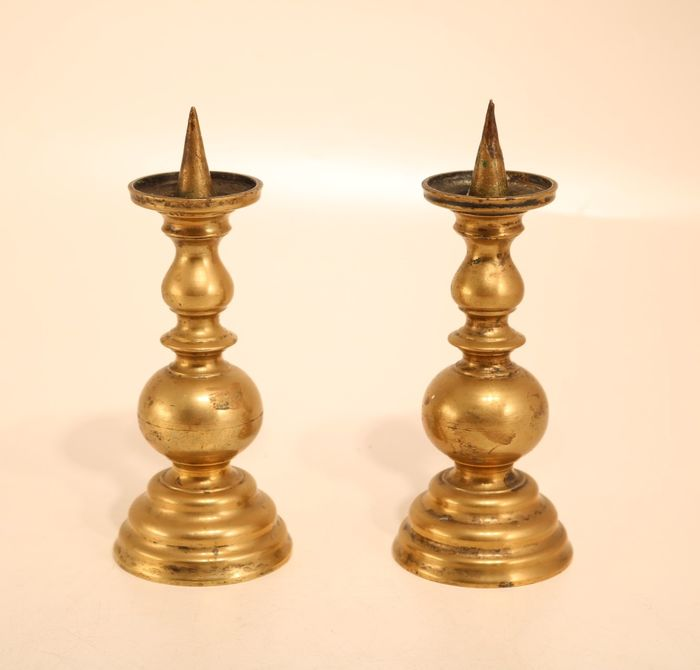 Pair of Neo-Gothic candlesticks
