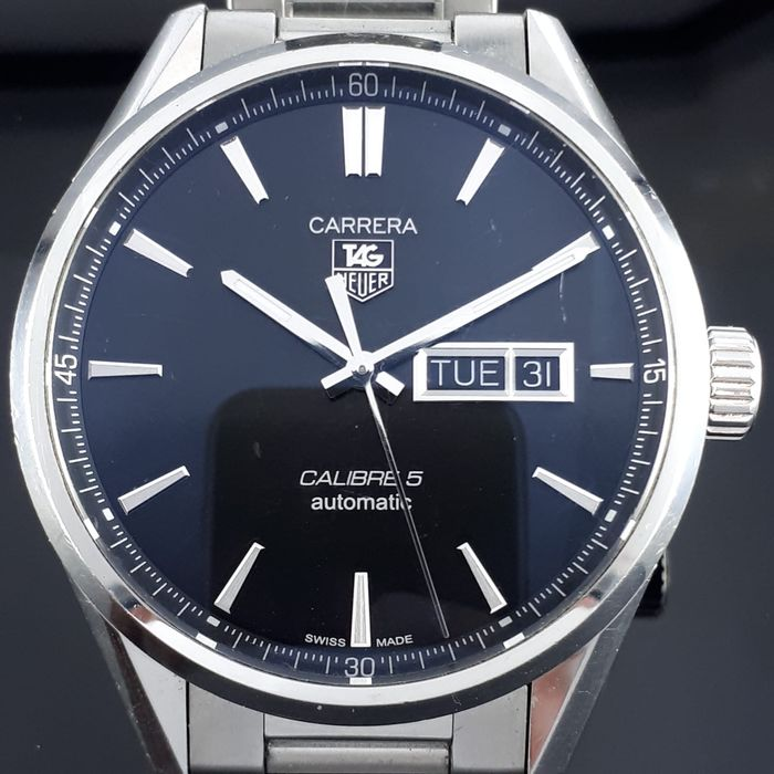 TAG Heuer - Carrera Calibre 5 Automatic  - WAR201A-0 - Men - 2011-present
