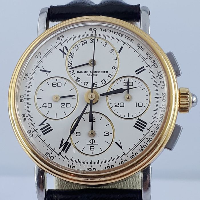 Baume & Mercier - Vintage Moonphase Manual Chronograph  - 6102.099 - Men - 1980-1989