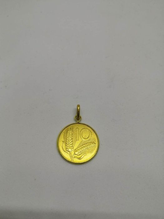 18 kt gold, yellow gold - Pendant