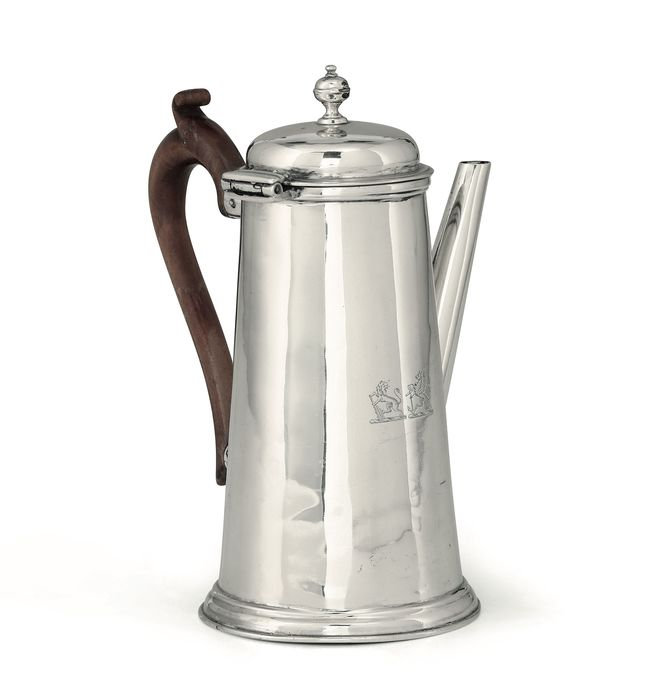 A William IV Period Coffee Pot - Sterling Silver - John Tapley, London  - England - 1834