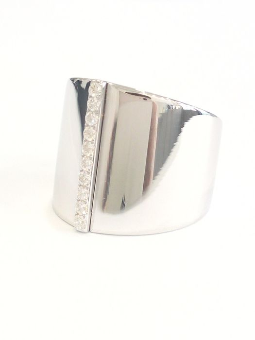 MESSIKA - 18 kt. White gold - Ring - Diamonds