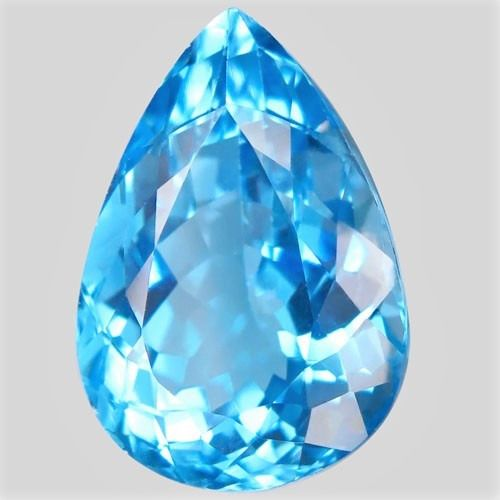 No Reserve Price - Blue Topaz - 18.97 ct