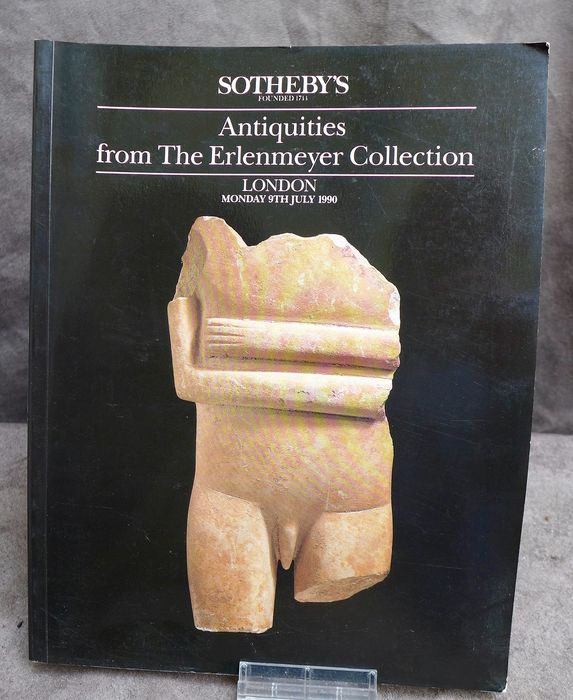Sotheby's - Cycladic and Classical Antiquities from the Erlenmeyer collection - 1990