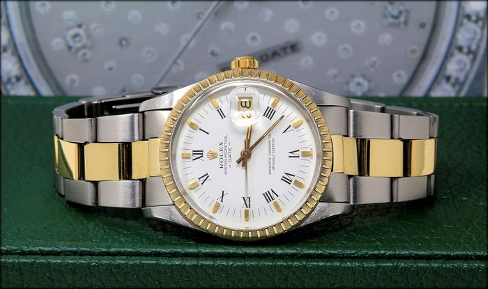 Rolex - Oyster Perpetual Date - Ref.15053 - Unisex - 1983