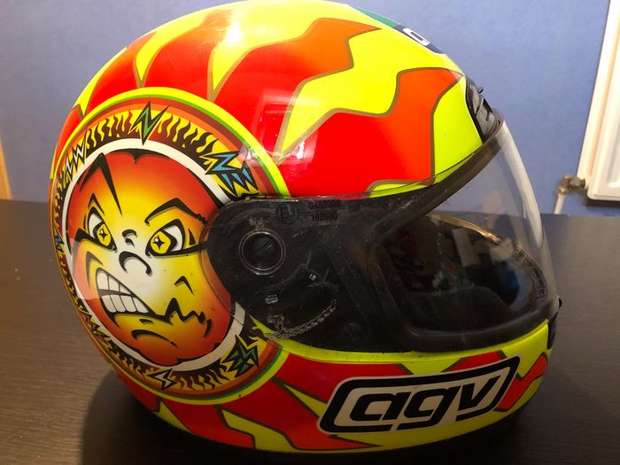Helmet Agv Pista Limited Edition Valentino Rossi 1999 Catawiki