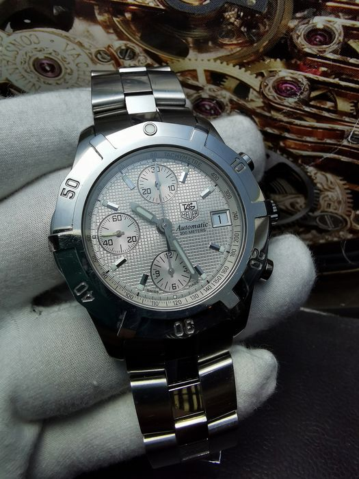 TAG Heuer - 2000 Chronograph Professional 200m  - Ref. CN2110-0 - Men - 2000-2010