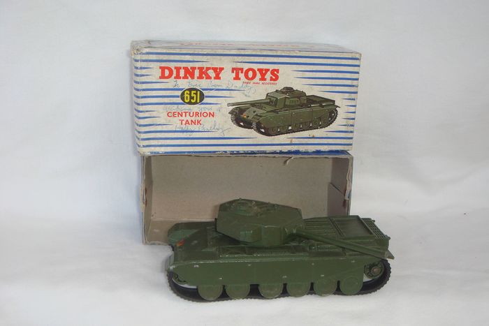 "Dinky Toys - 1:48 - First Issue Dinky Toys British Army ""Centurion Tank"" - 1954 - In original First Series ""Dinky Toys"" Box - 1954"