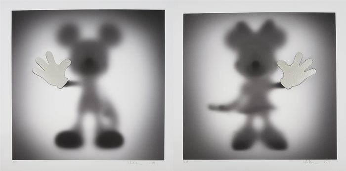 Whatshisname - Gone - Mickey & Minnie (Silver Leaf)