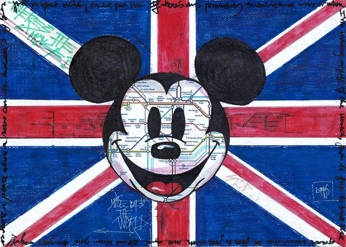 KNON - Mickey Artwork On Map