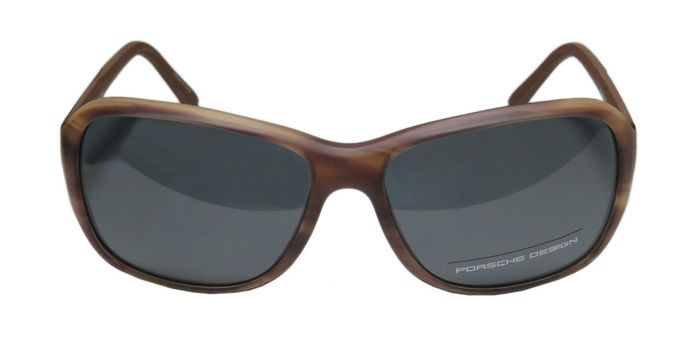 Sunglasses - Porsche - Porsche Design P8558 Aviator Driving Sunglasses With Case and Docs - 2018