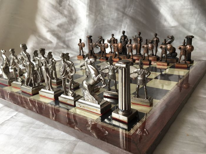 1970 Spartan Chess - silver plating metal