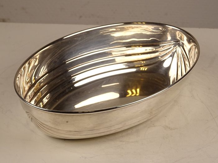 Bowl - .800 silver - Italy - Second half 20th century