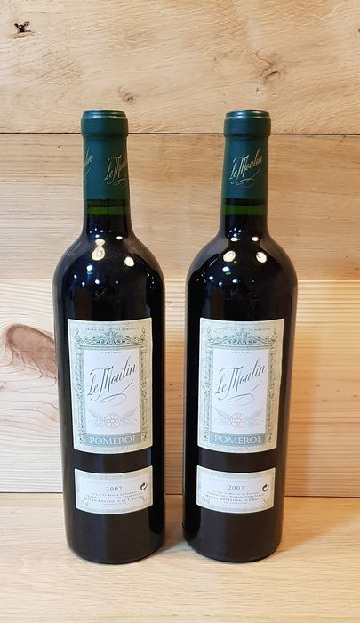2007 Chateau Le Moulin - Pomerol - 2 Botellas (0,75 L)
