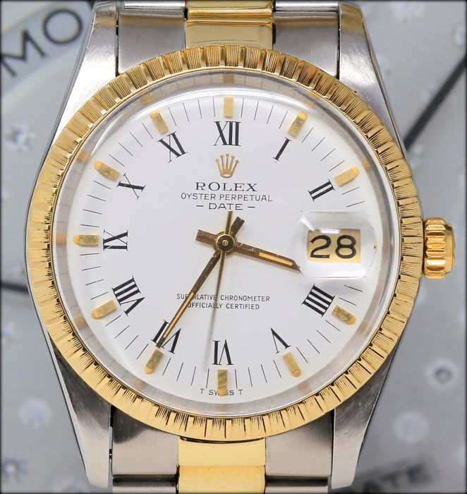Rolex - Oyster Perpetual Date Ref.15053 - Unisex - 1983