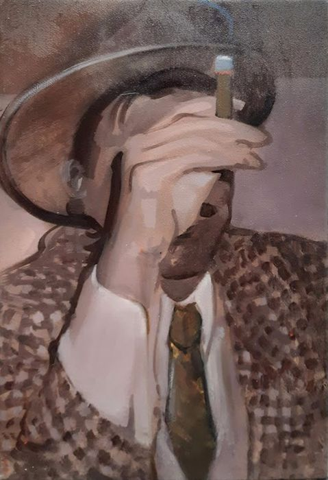 Erwin van Krey - Smoking man