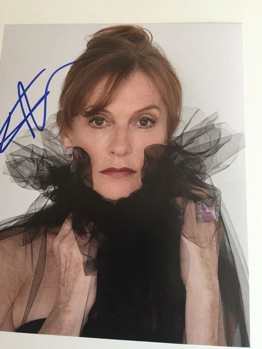 Isabelle Huppert - Autograph  - Signed photo, with Coa