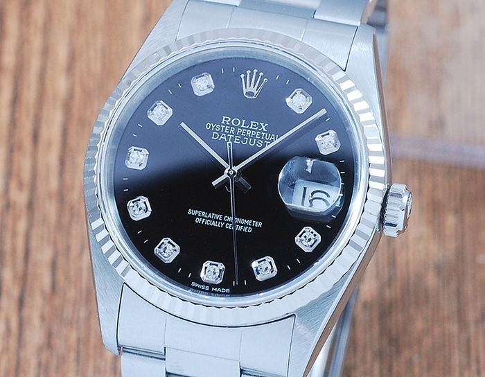 Rolex - Oyster Perpetual Datejust - 16234 - Herre - 2000-2010