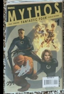 marvels - MYTHOS: FANTASTIC FOUR #1 by PAOLO RIVERA signed by STAN LEE RARE !!!! - Erstausgabe (2007)