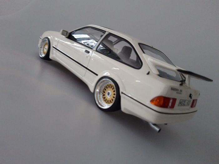 Norev 118 Ford Sierra Rs Cosworth 1986 Wit Bbs Rm