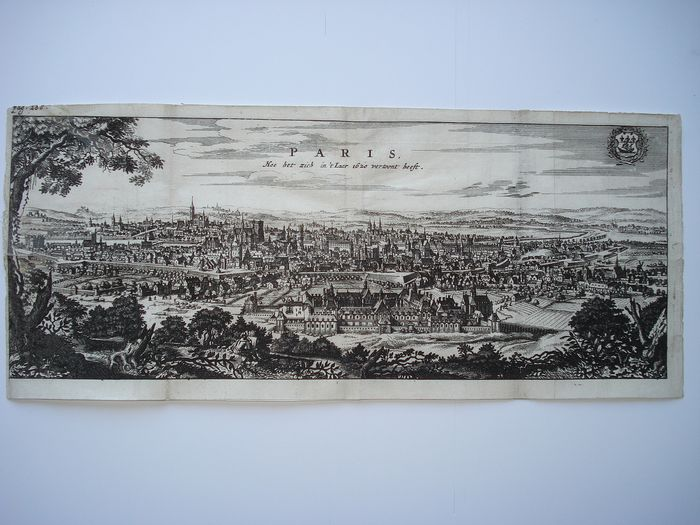 France, Paris; Jacob van Meurs - PARIS - 1661-1680