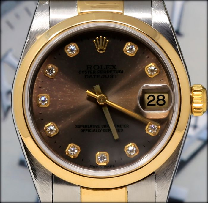Rolex - Oyster Perpetual Datejust - Ref.78243 - Dame - 2000-2010