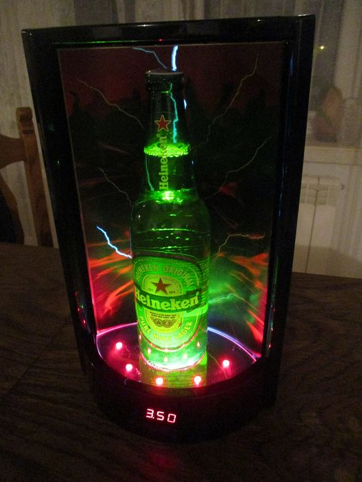 Royal HEINEKEN - [33/20cm] - display  with lightning effect: electronically controlled - price (87101) - mix material