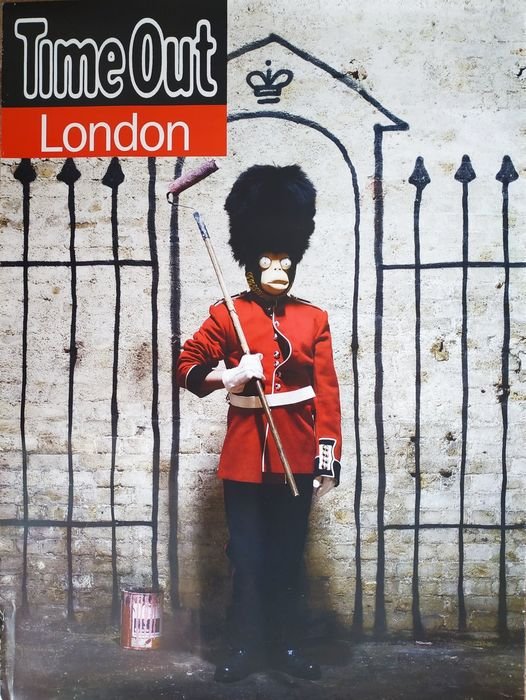 "Banksy - ""Time Out London"""