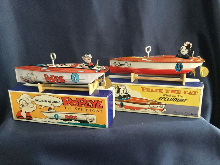 Schylling - Wind-up boat