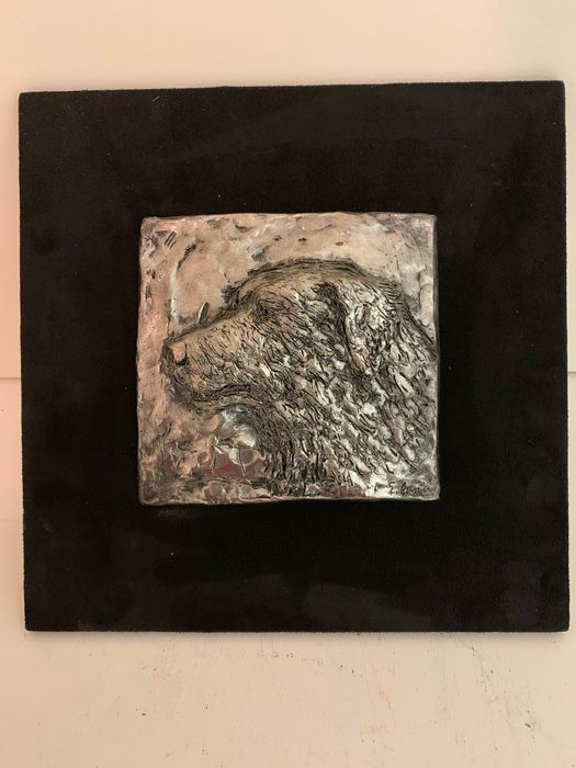 Bas-relief rolled silver - Italy, 21st century
