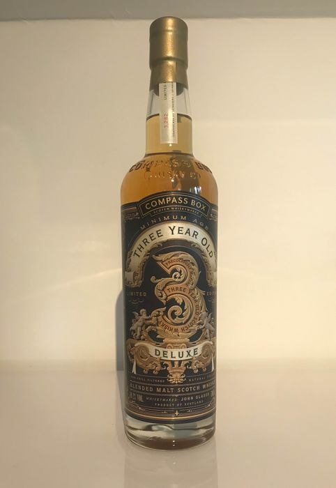 Compass Box Three year old Deluxe - 0.7 Ltr