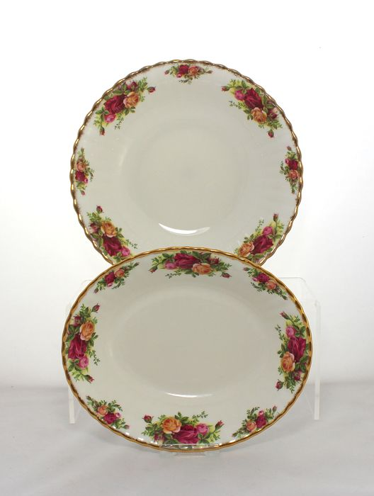 Royal Albert - Old Country Roses - Serving dishes (2) - Porcelain