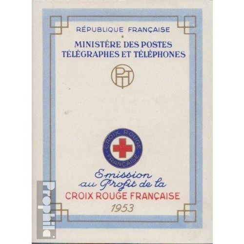France - Red Cross booklet 1953 and 1954 deluxe**