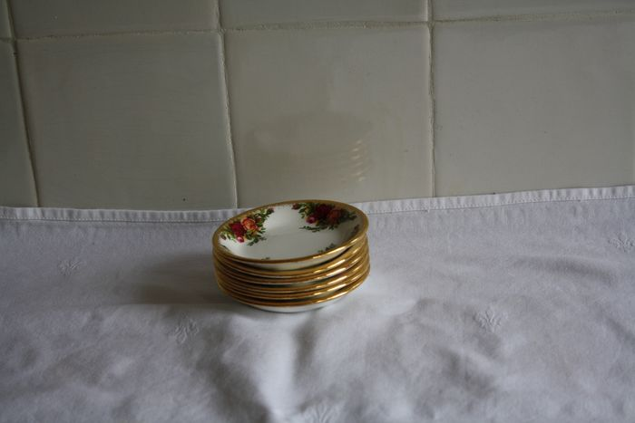 Royal Albert - Petit four bowls (6) - Porcelain