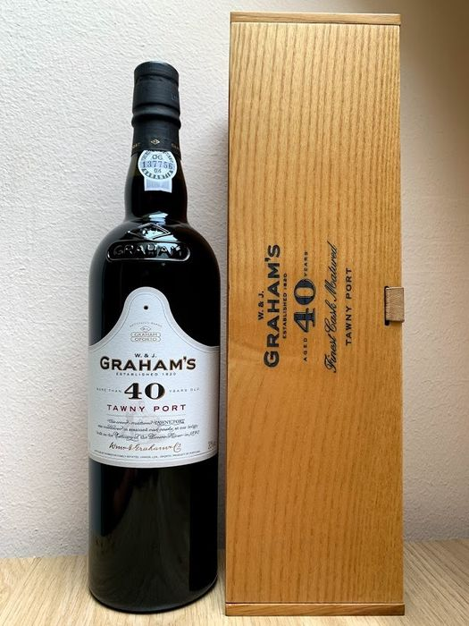 Graham's 40 years old Tawny - 1 Bottle (0.75L)
