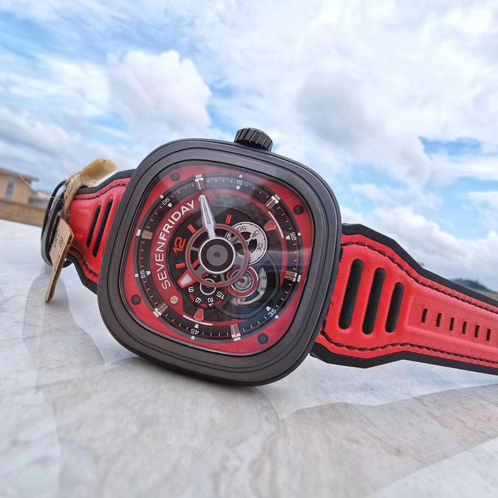 Sevenfriday - SF-P3B Racing team red - P3B/06A - Unisex - 2019