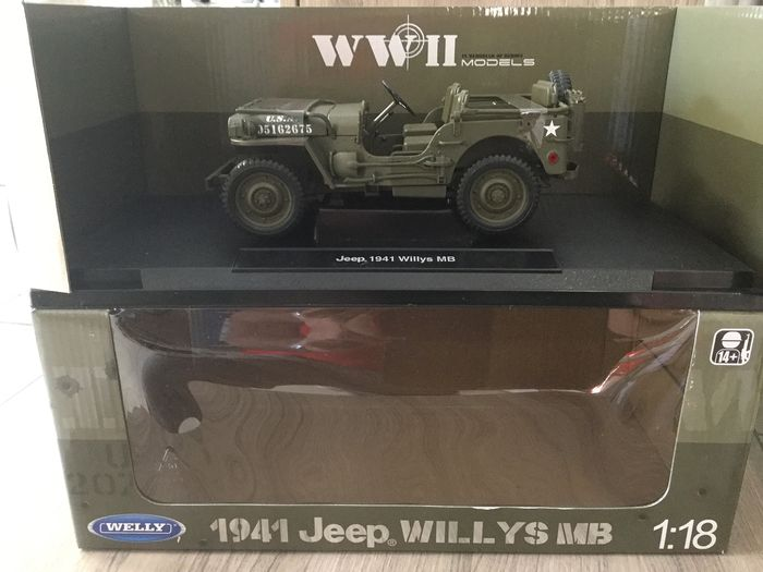 Welly - 1:18 - Jeep Willys MB 1941
