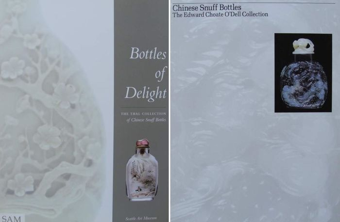 2 Books on Chinese Snuff Bottles - . - China - mixed