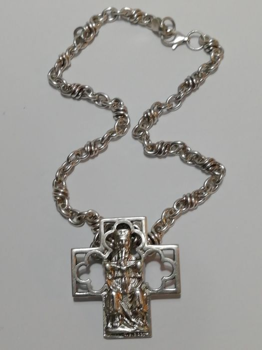 925 silver - Necklace with pendant