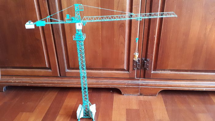 Gru in metallo con movimenti reali H0, 1:87 - Model Construction Crane