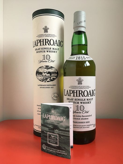 Laphroaig 10 years old - Official bottling - b. 2000s to today - 70cl